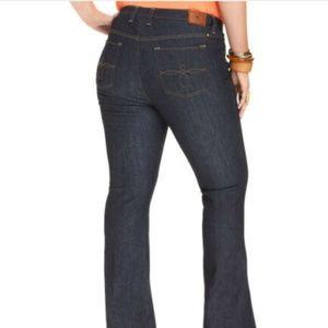 Lucky Brand Ginger Boot Dark Wash Denim Jeans